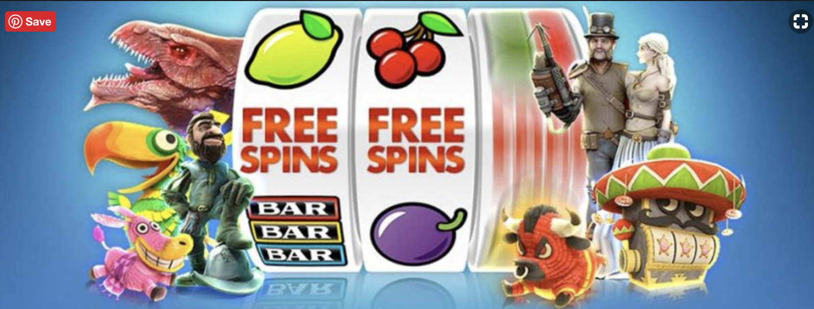 Free Spins Slot Sites UK